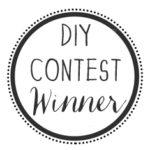 DIY Contest Winner!