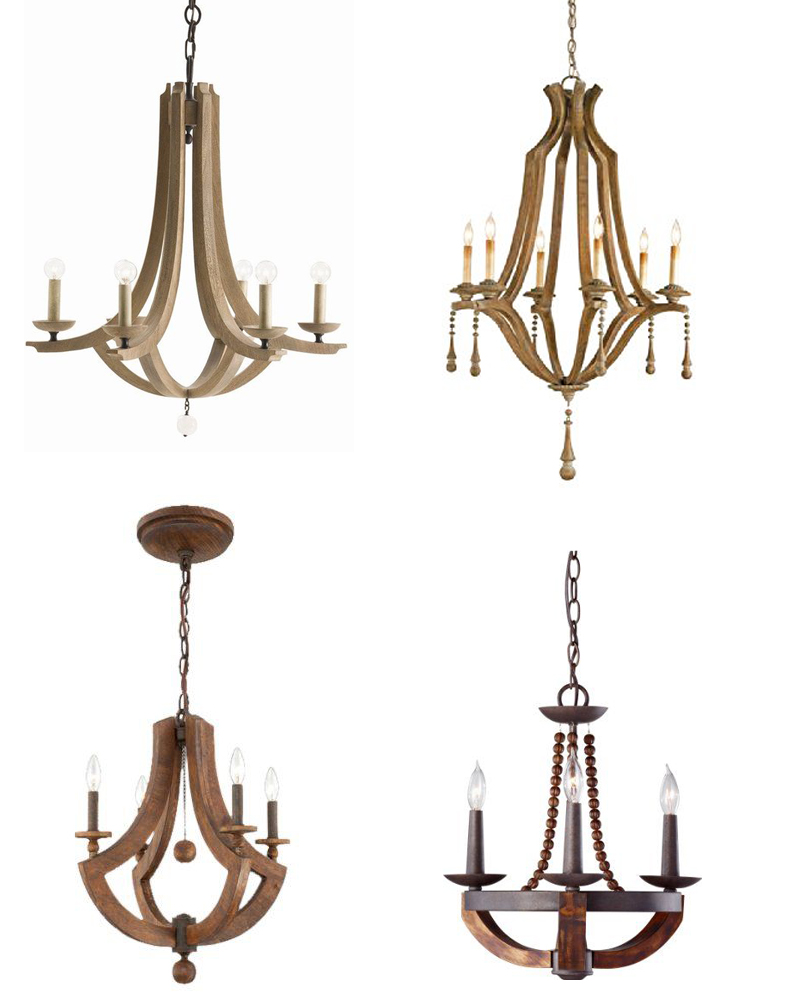 Antoinette chandelier the magnolia market magnolia for Wood chandelier lighting