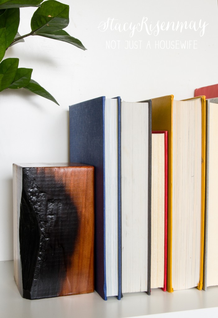 charred bookend 1
