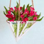 Geometric Hanging Vase {Styled X3}