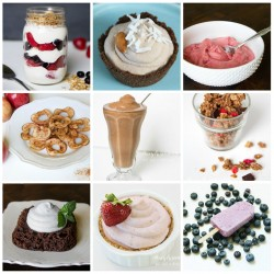 healthy treats and desserts featured