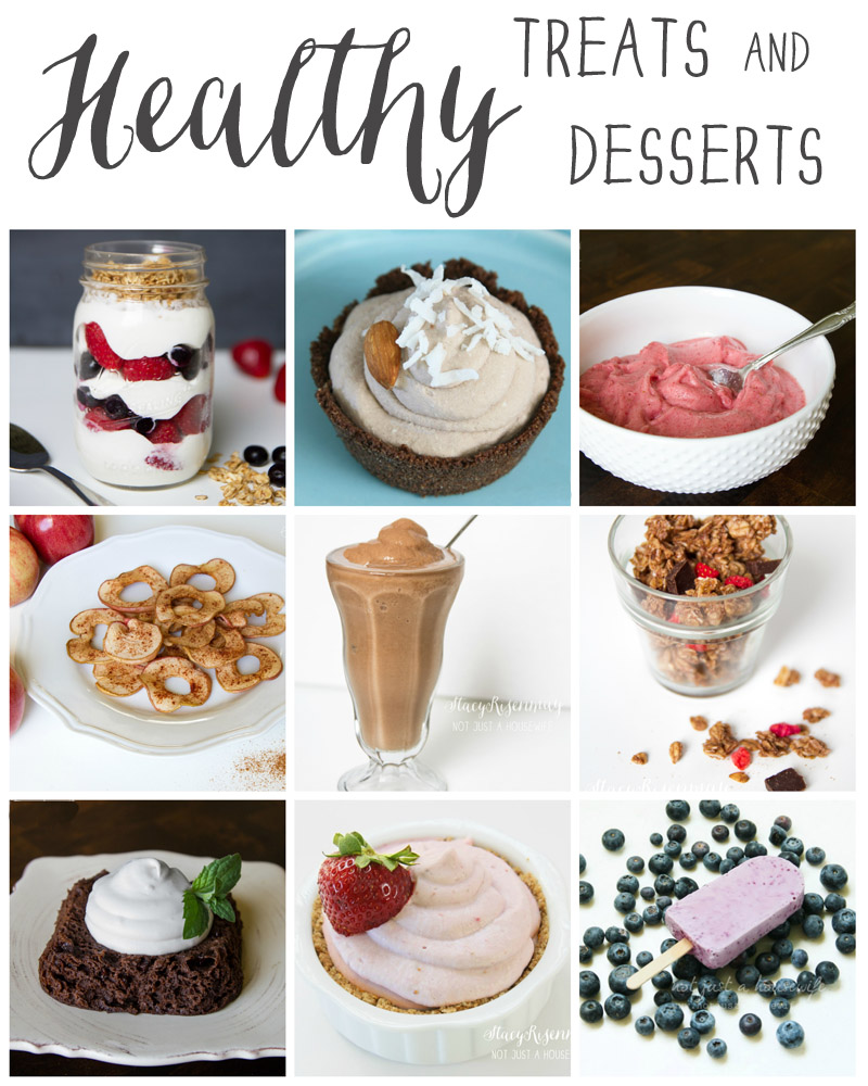 healthy treats and desserts
