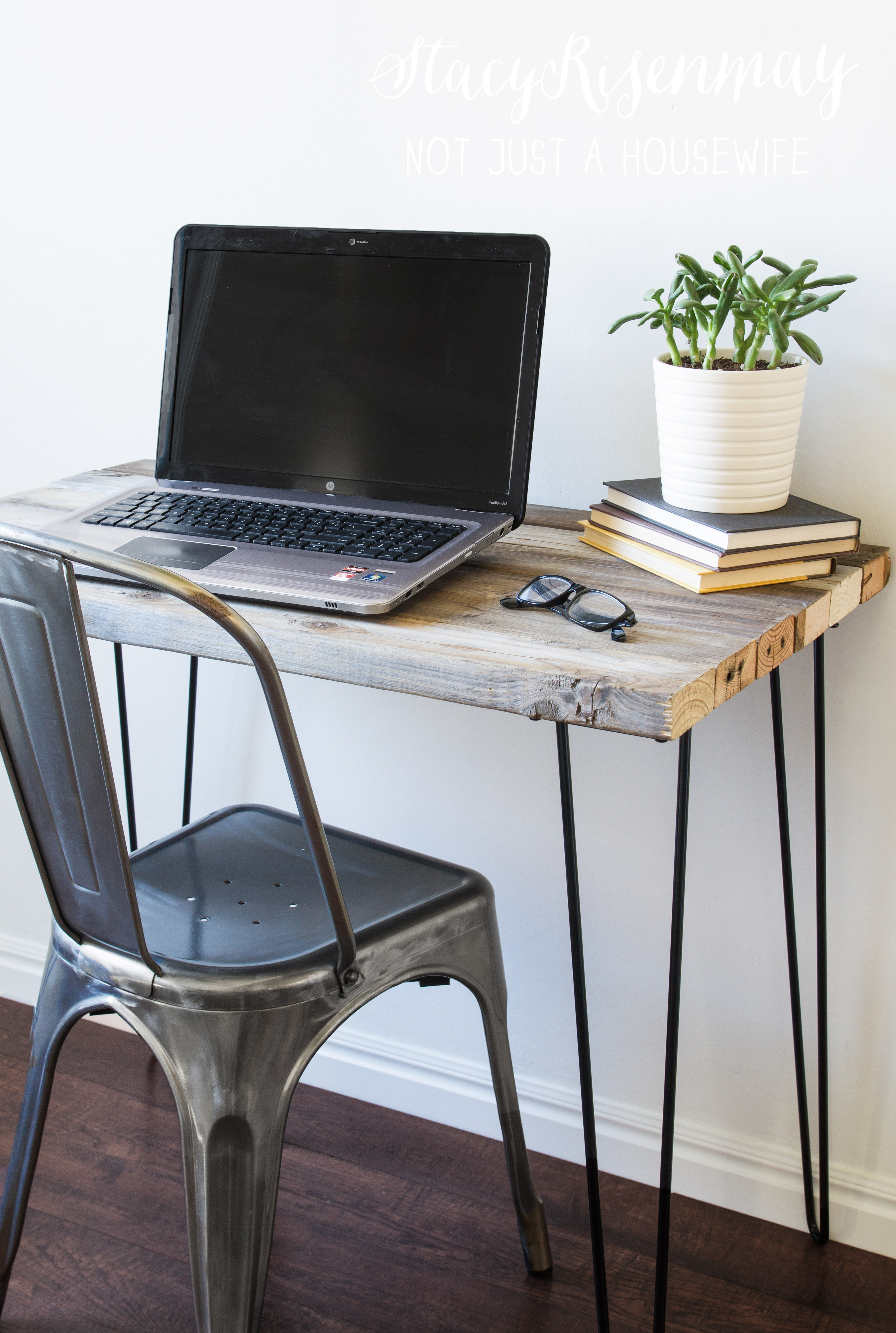 Reclaimed Wood Desk Stacy Risenmay