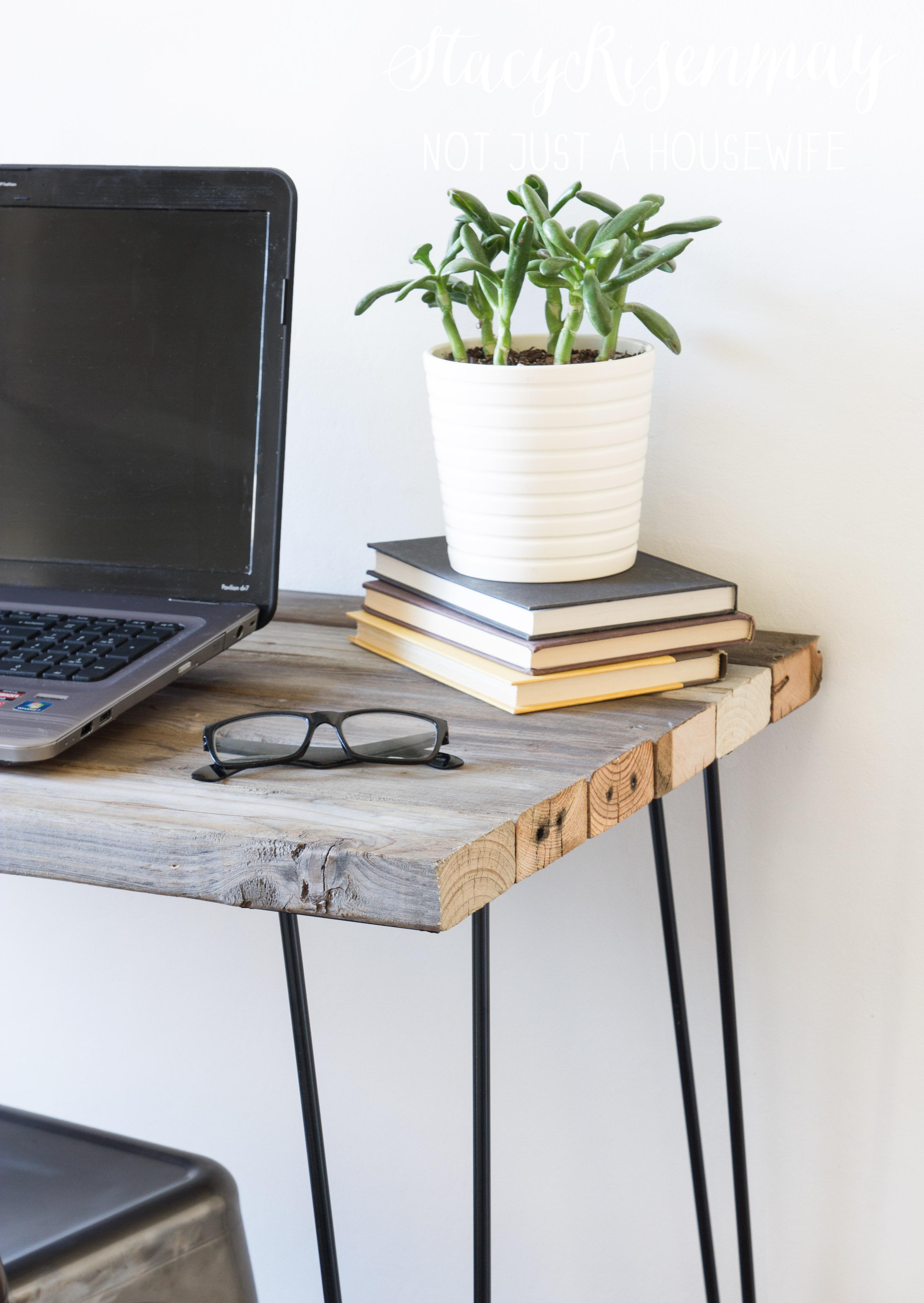 Reclaimed Wood Desk Stacy Risenmay