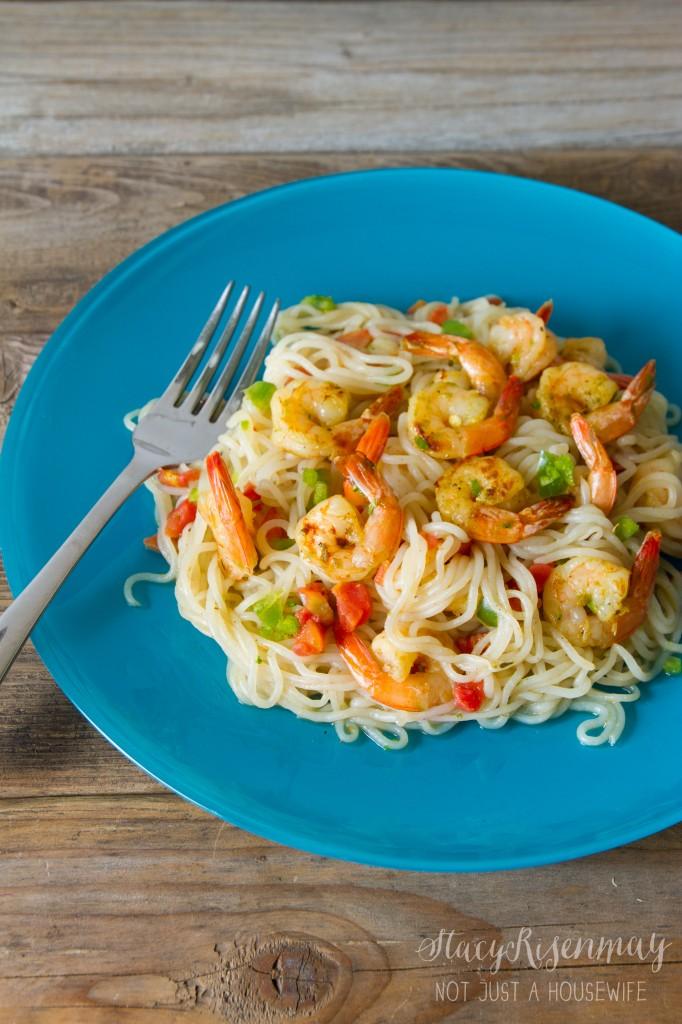 spicy garlic lime shrimp