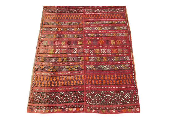 red kilim turkish rug