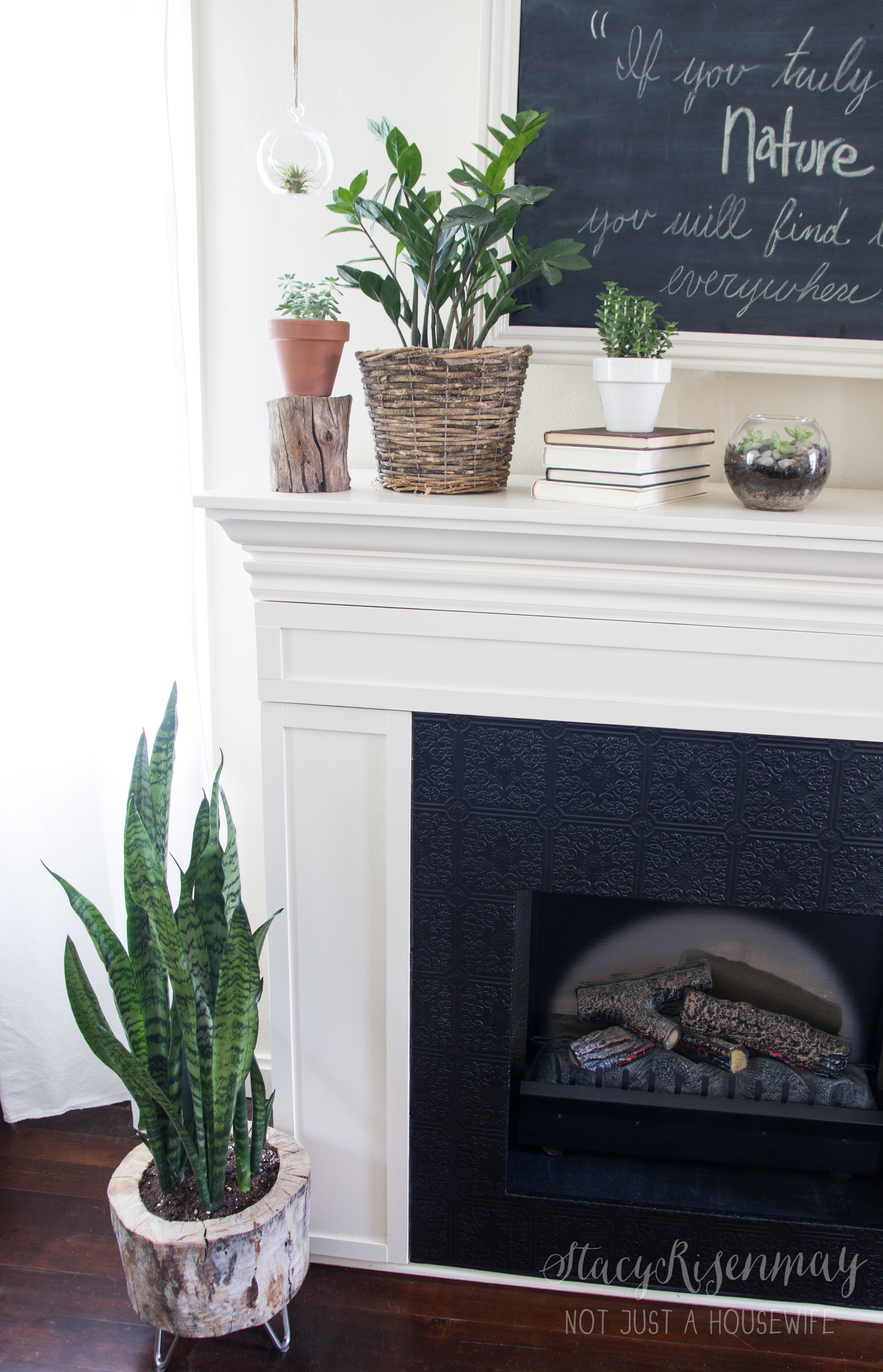 Can you tell what is different with my fireplace? You guys who ...