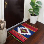 Kilim Inspired Painted Rug
