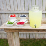 Lemonade Drink Table