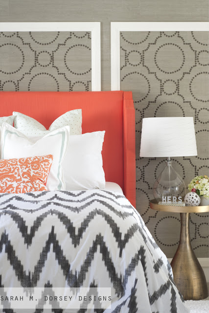 grasscloth and coral 2