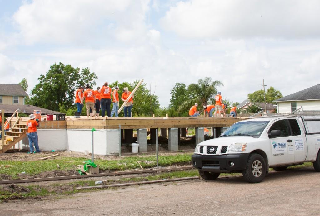 habitat - building home