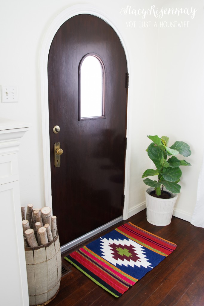 hand painted kilim rug
