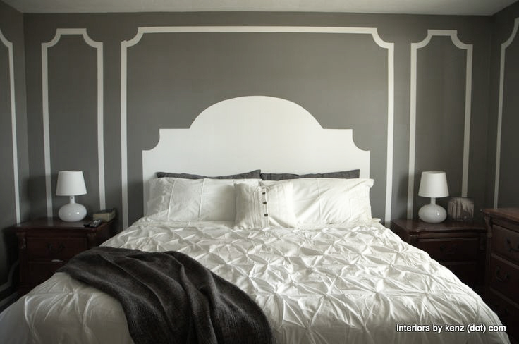 painted molding