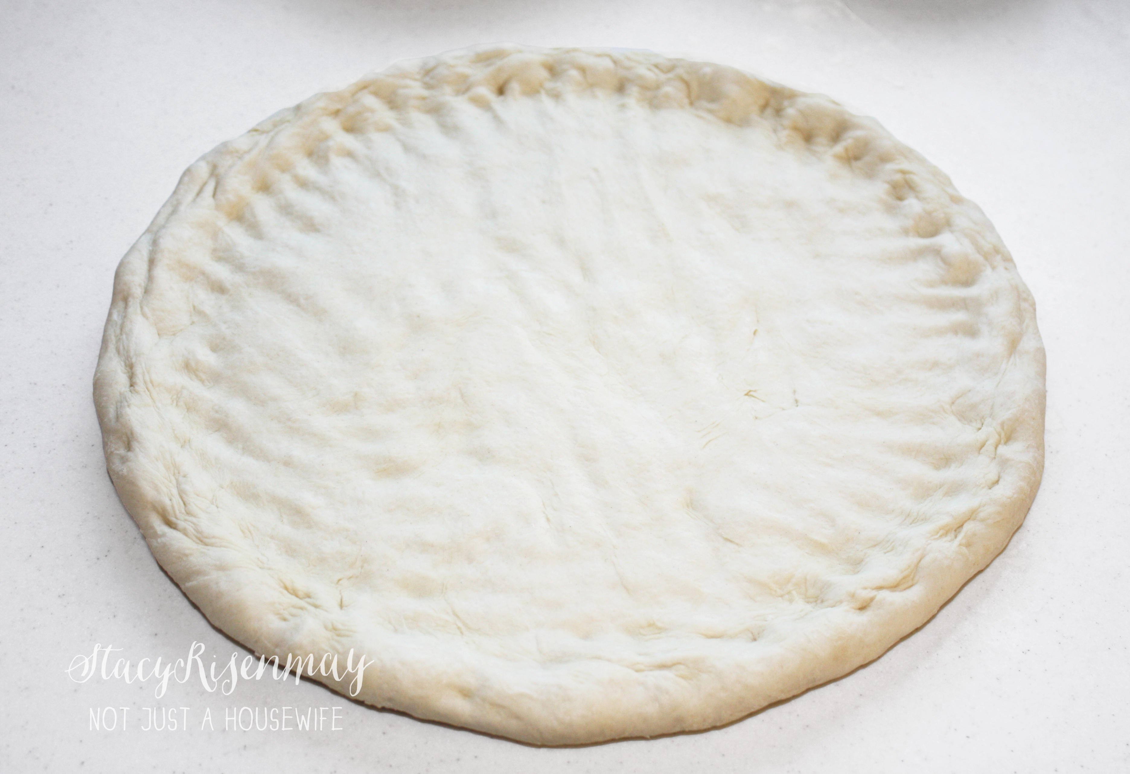 Super Easy Pizza Dough! - Stacy Risenmay