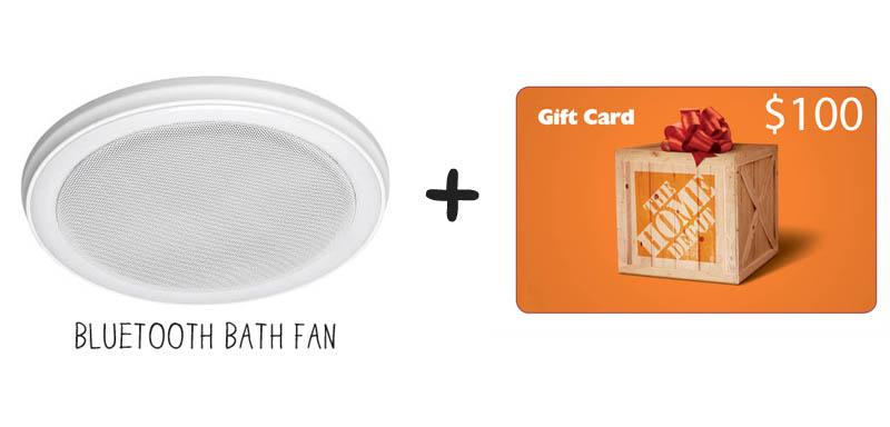 bathfan and giftcard
