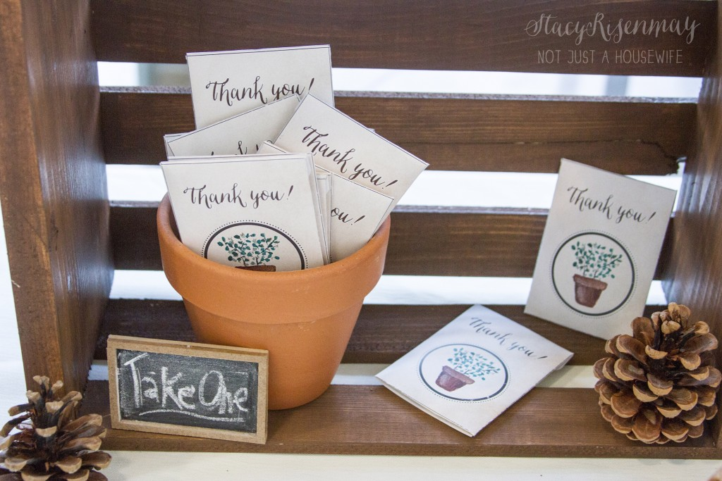 custom seed packets for guests