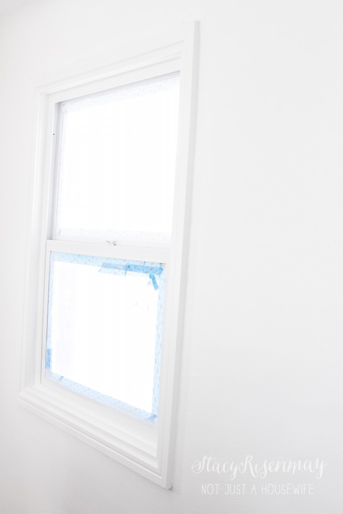 painting window casings