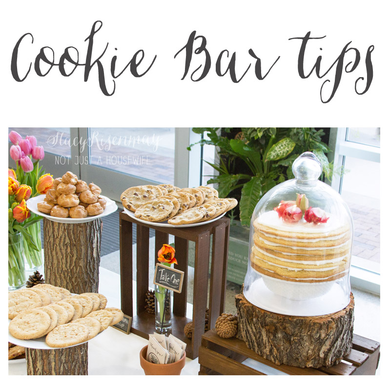 Tips for having a cookie bar at your next party