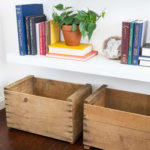 Removing Labels From Crates + Giveaway!