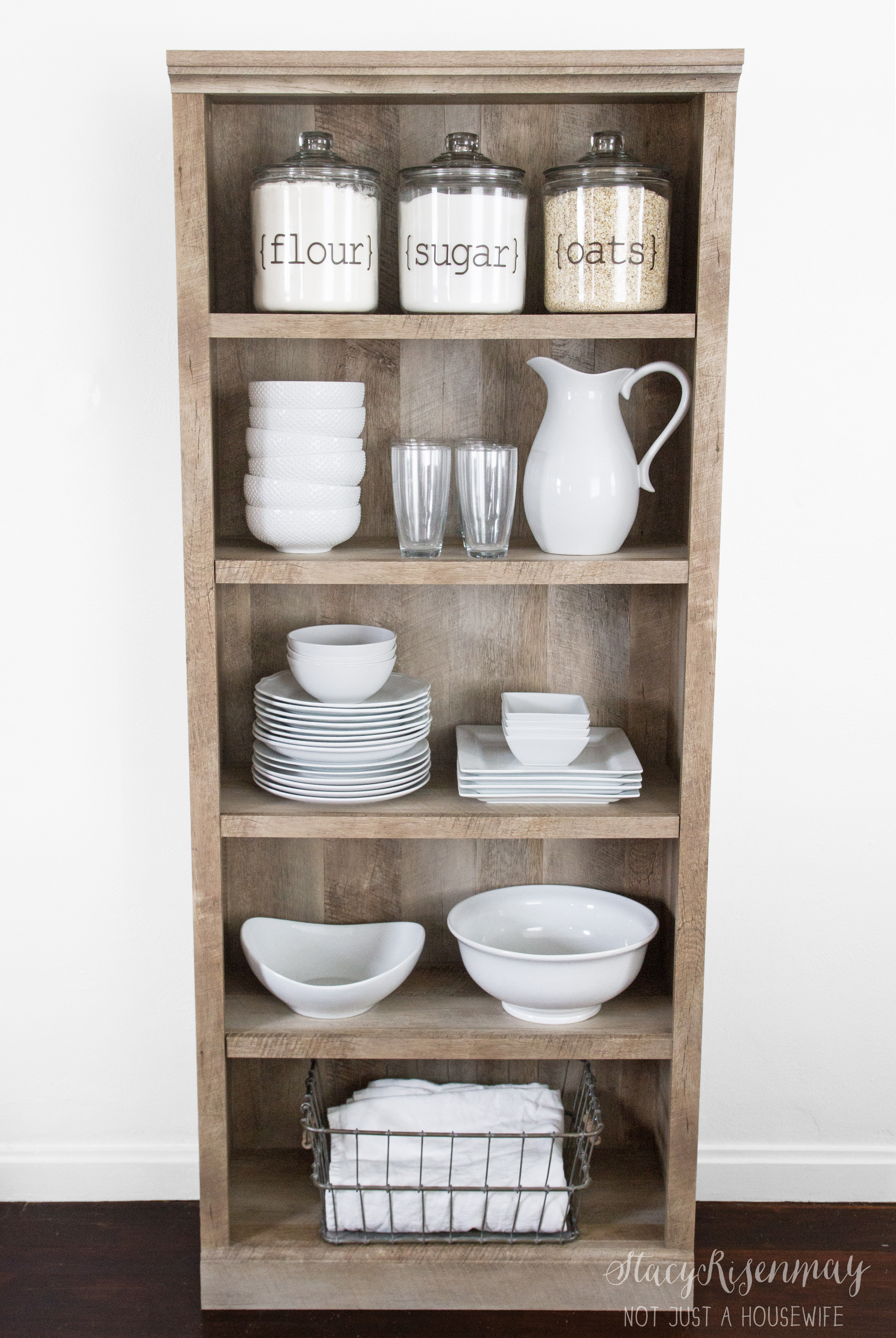 Kitchen Bookshelf Other Uses For Bookcases Stacy Risenmay