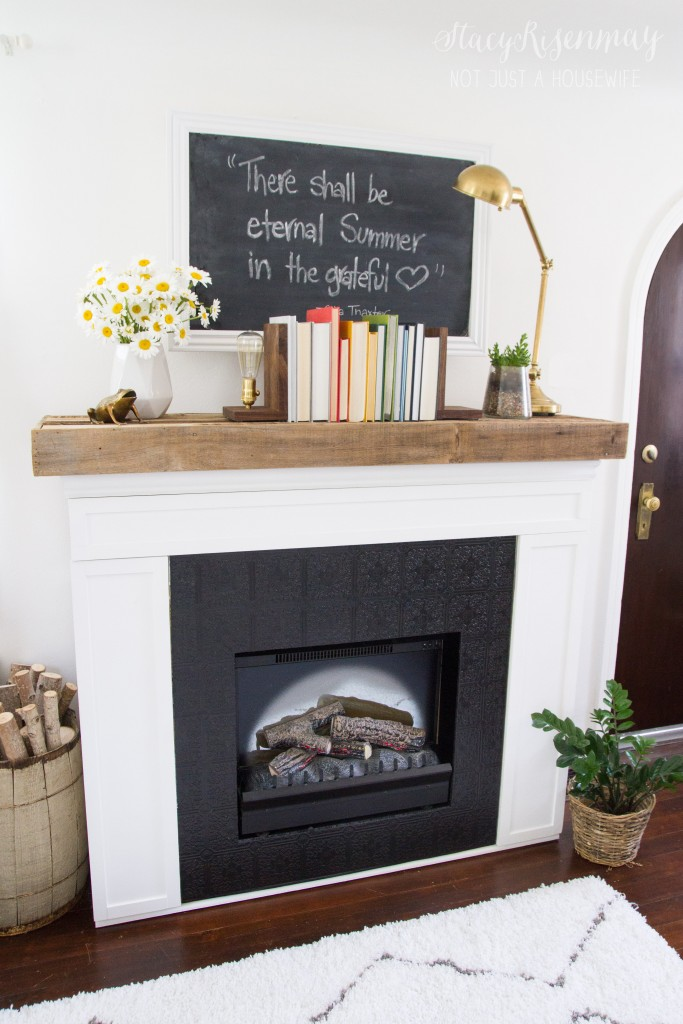 Fireplace Makeover with the HomeRight Finish Max | HomeRight