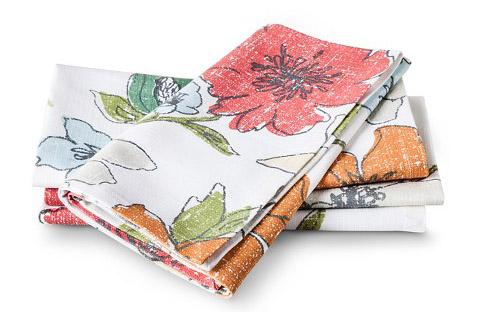 floral napkins from target