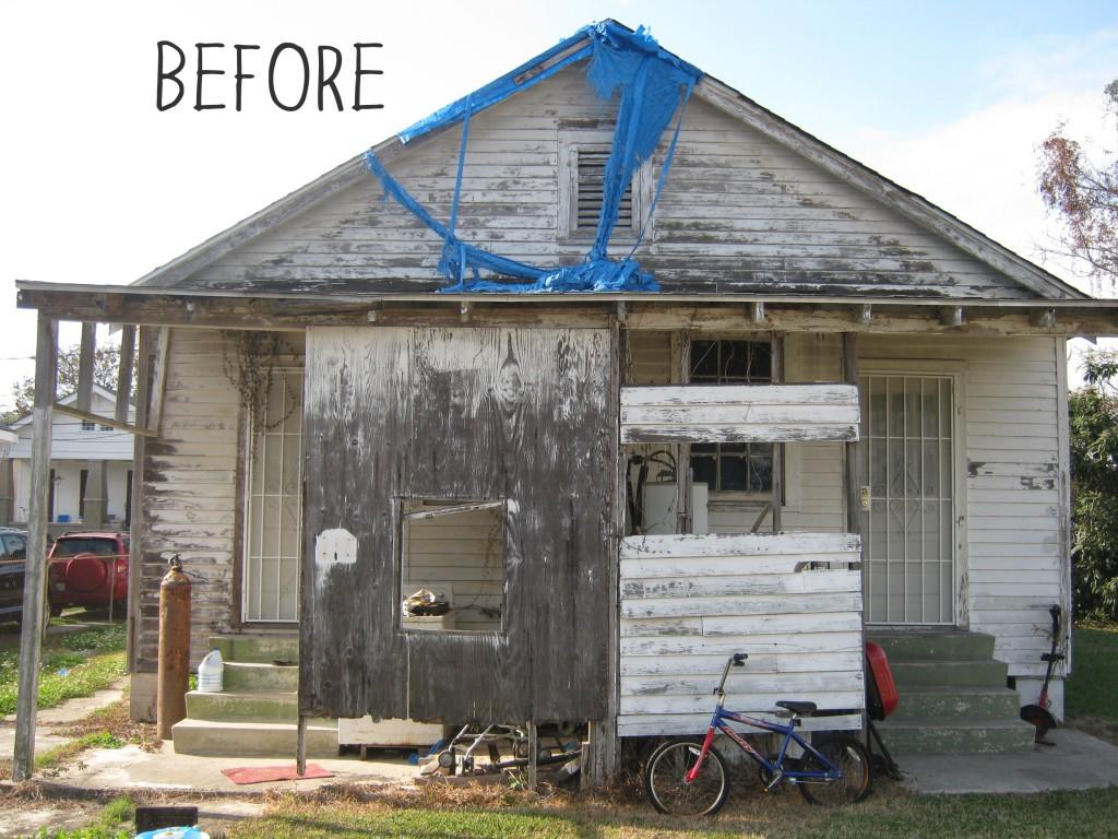 Before - 1040 Casa Calvo (Back)