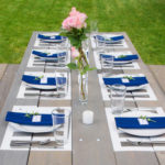 Painted Placemats {Picnic Table Makeover}