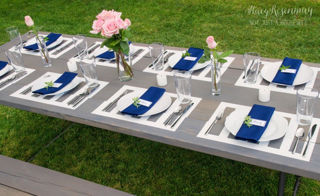 picnic table styled