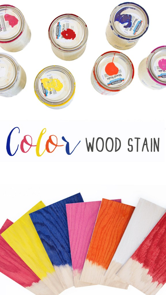 NEW colored stain from Minwax