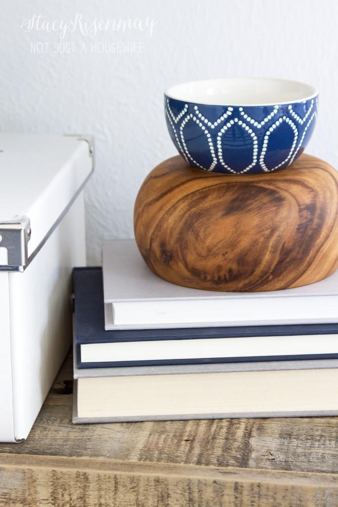 bowl as pedestal