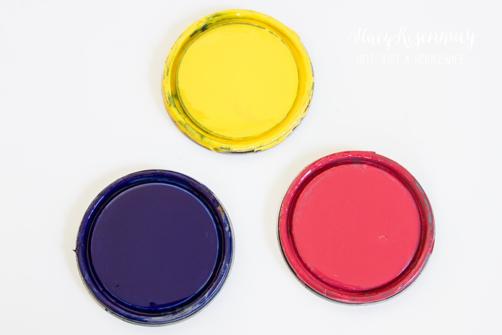 colored stain options for planter