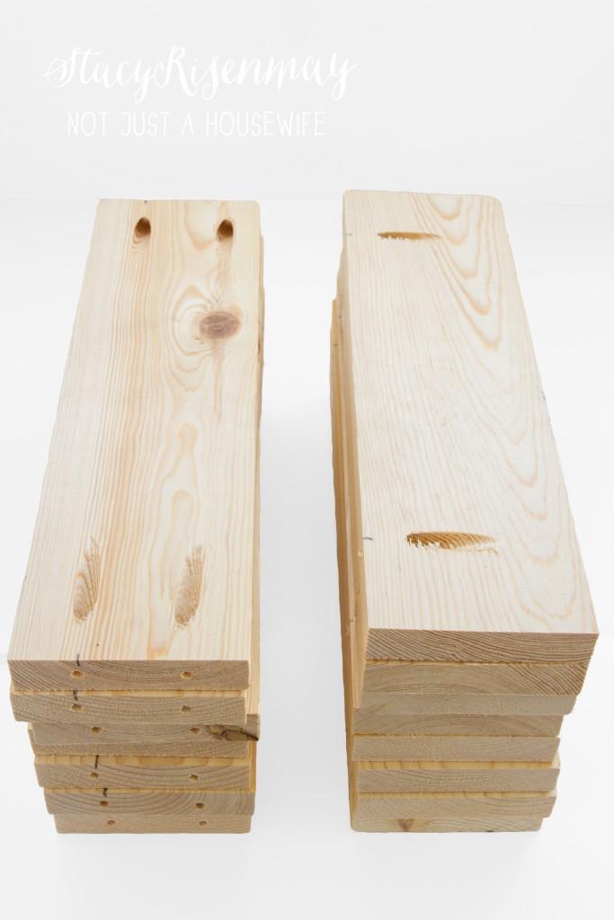 crate planter pieces