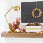 Fall Mantel {Styled X3}