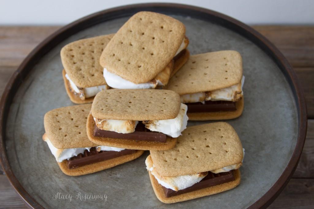 homemade graham crackers for smores