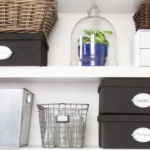 Wire Basket Storage {Styled X3}