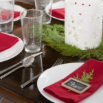 Christmas-placesettings