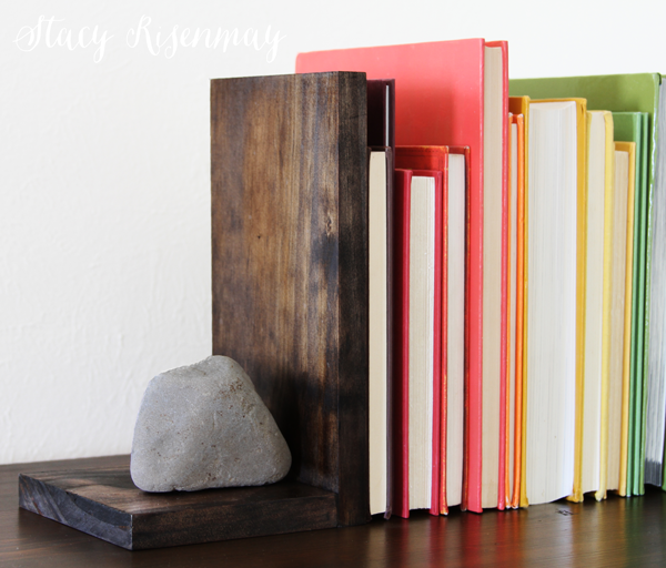 rock-bookends