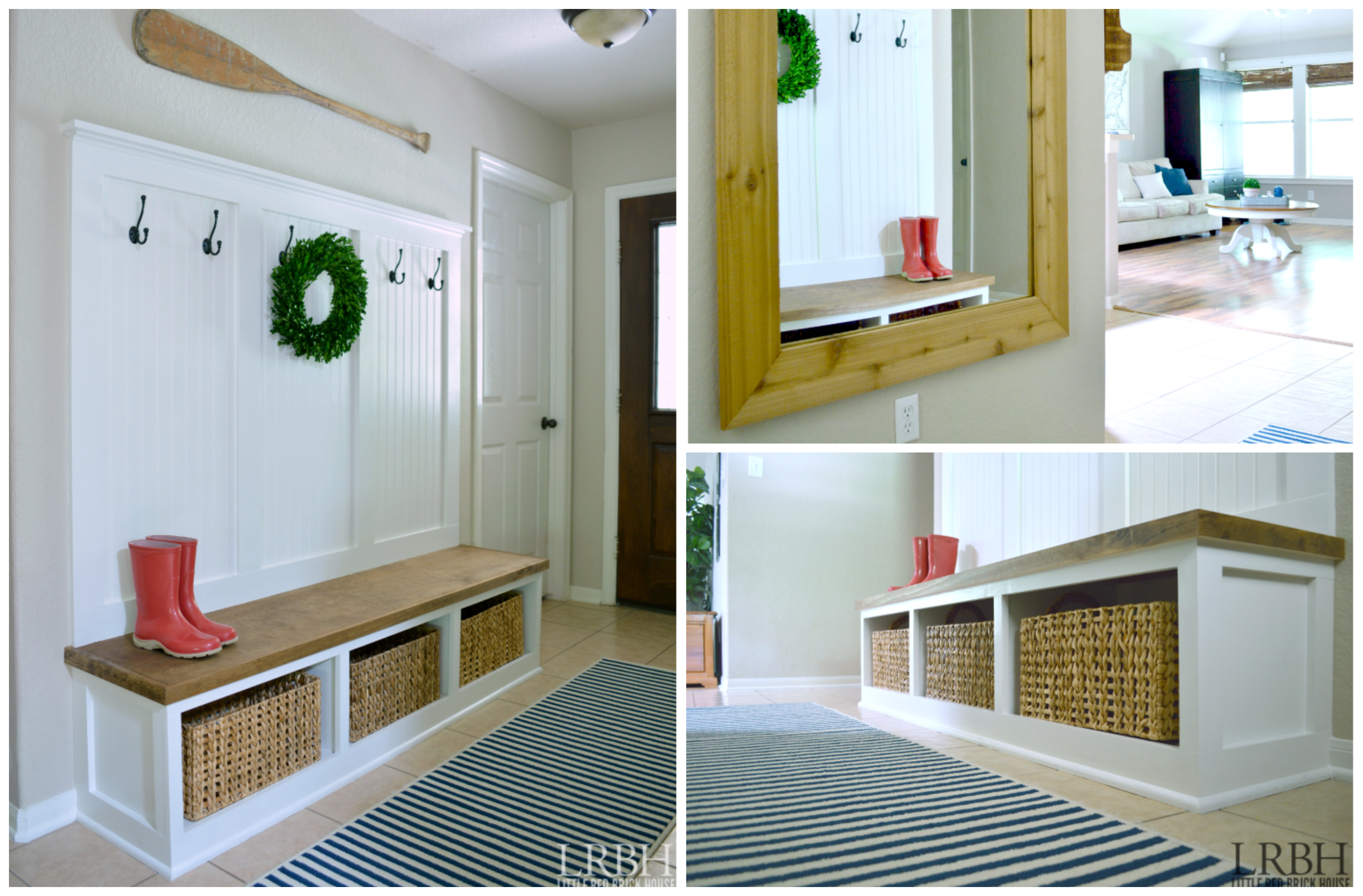 Foyer Mudroom Jobs : Top projects in the diy contest not just a housewife