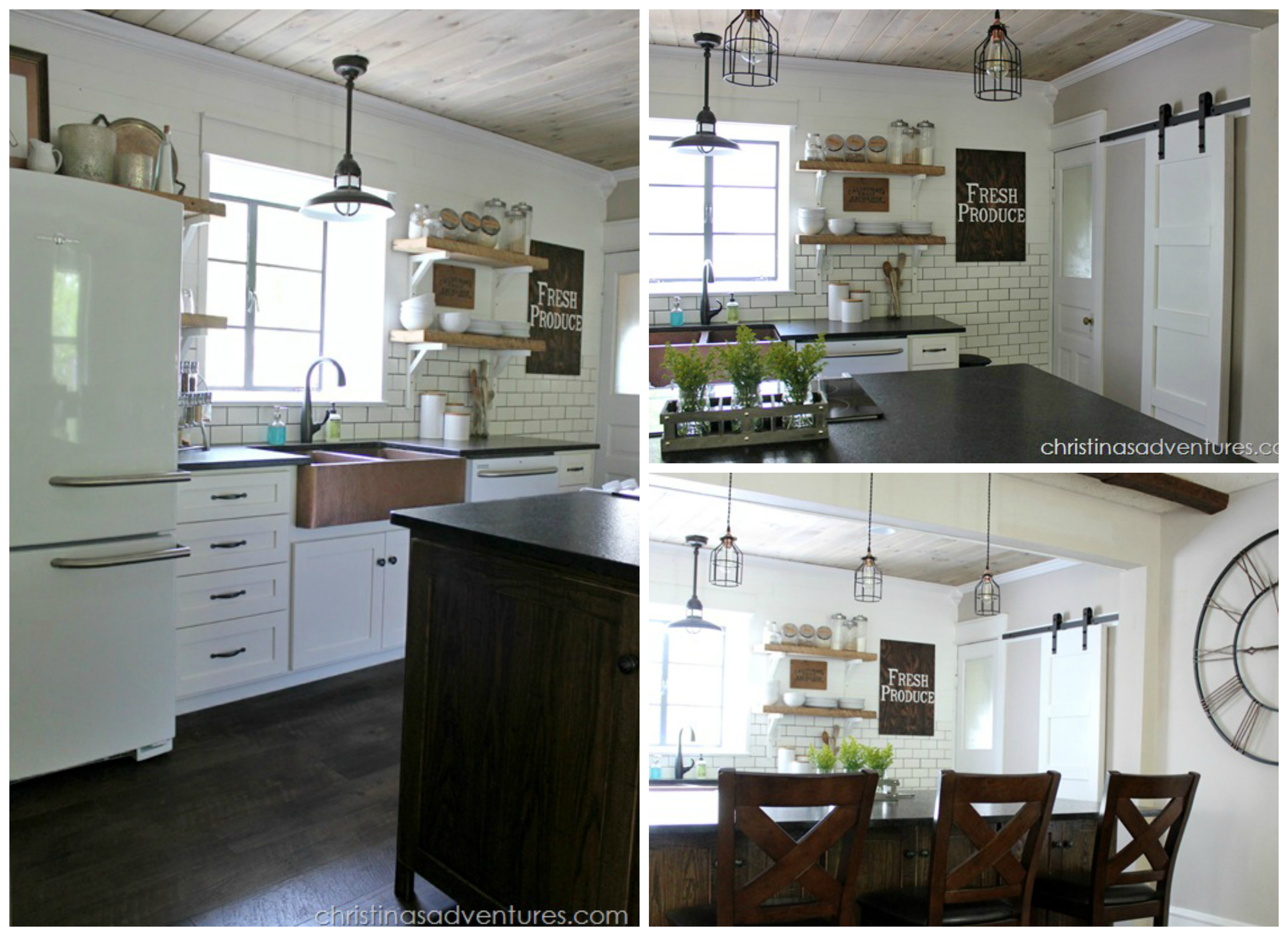 Our favorite fixer upper kitchen makeovers - Fixer Upper Industrial Kitchen Industrial Apartment Fixer Upper Top Projects In The Diy Contest