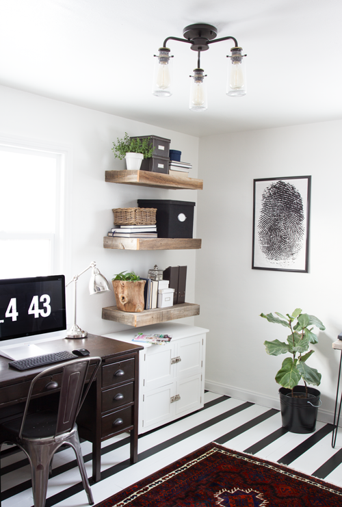 Amazing My Home Office Reveal Stacy Risenmay Largest Home Design Picture Inspirations Pitcheantrous