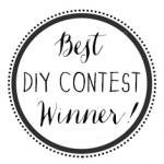WINNER of the Best DIY Contest of 2015!