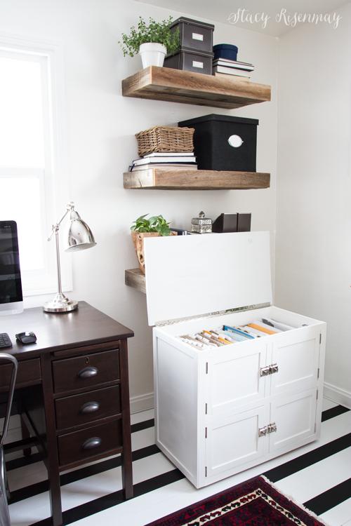 wood-filing-cabinet