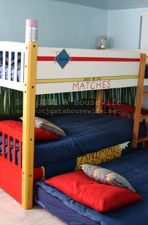 Great bunk bed with trundle