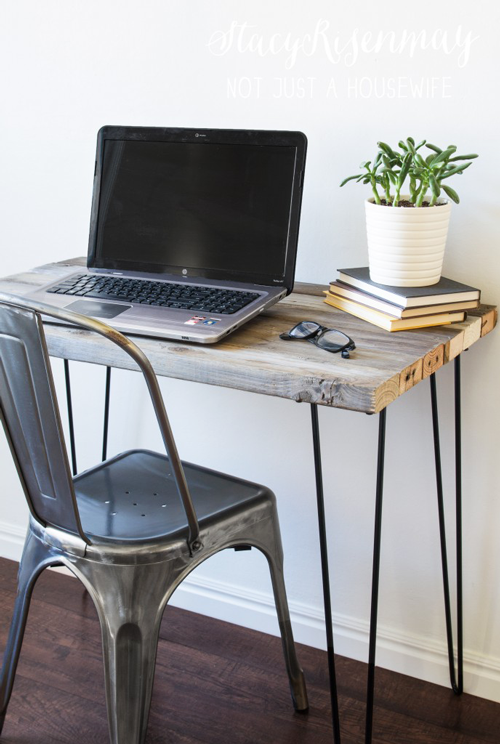 DIY wood desk