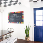 Kilim Rug Inspired Chalkboard