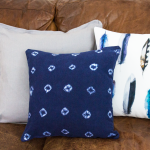 Indigo Mud Cloth Pillow {Knock Off}