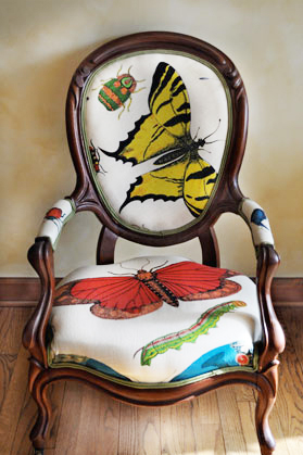 butterfly chair graphic