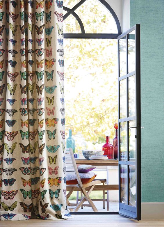 butterfly drapes