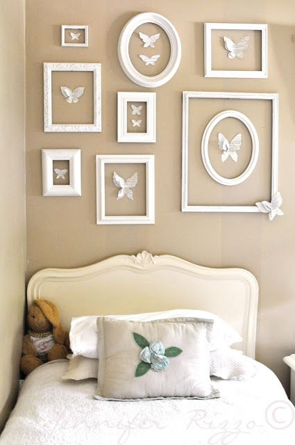 Awesome butterfly wall